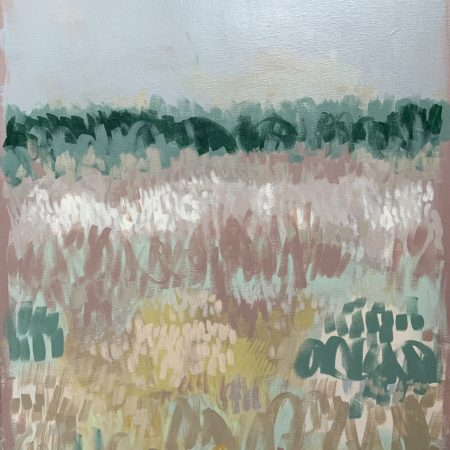 Towards Holkham is a painting by East Anglian artist Claire Oxley