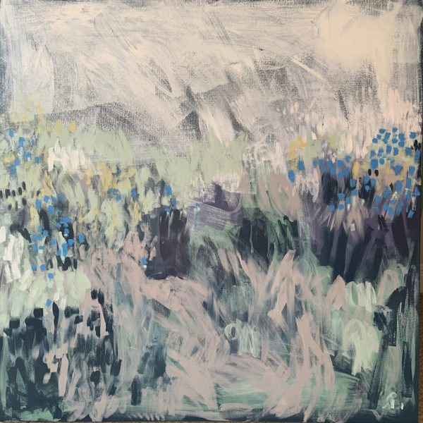 Painting of Forget-Me-Nots